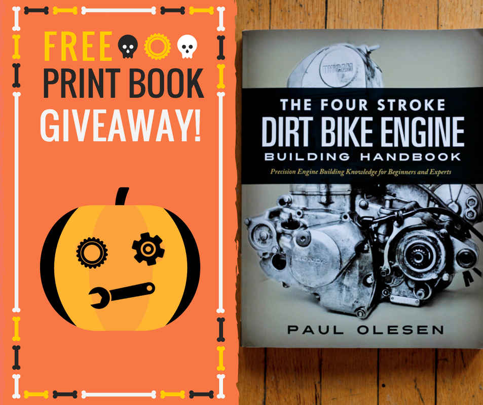 The Four Stroke Dirt Bike Engine Building Handbook Giveaway