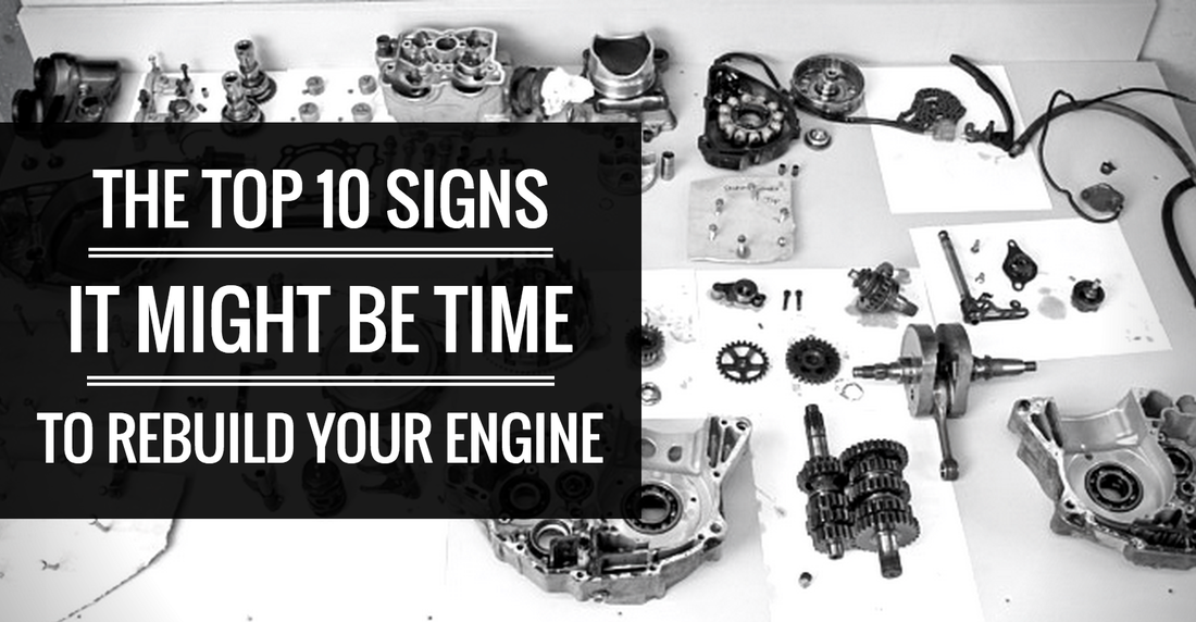 The Top 10 Signs It Might Be Time To Rebuild Your Dirt Bike Engine