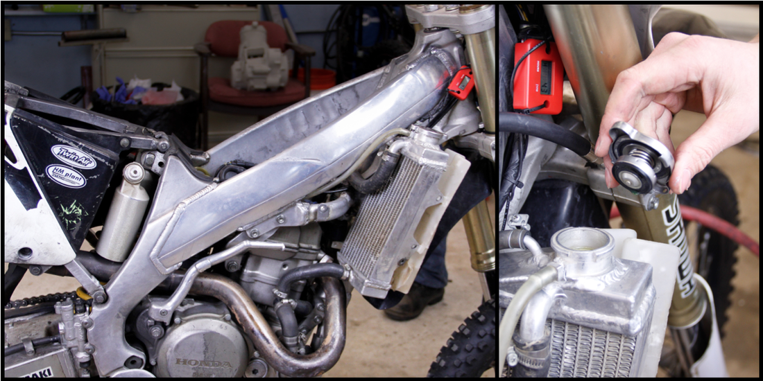 How to perform a leak down test on a dirt bike engine