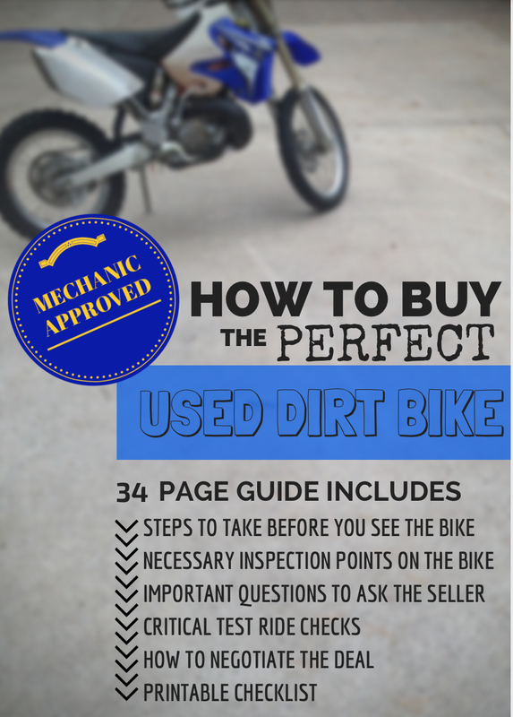 tips on buying a used dirt bike guide