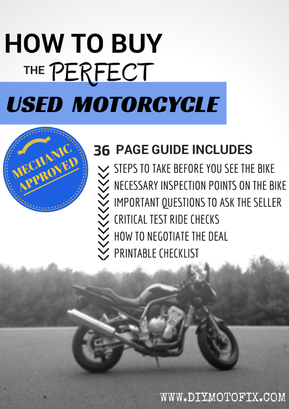 tips on buying a used motorcycle guide