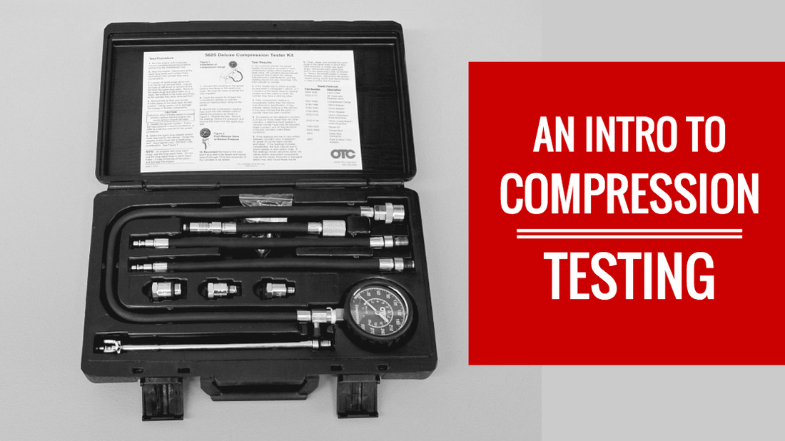 How does a compression test work?