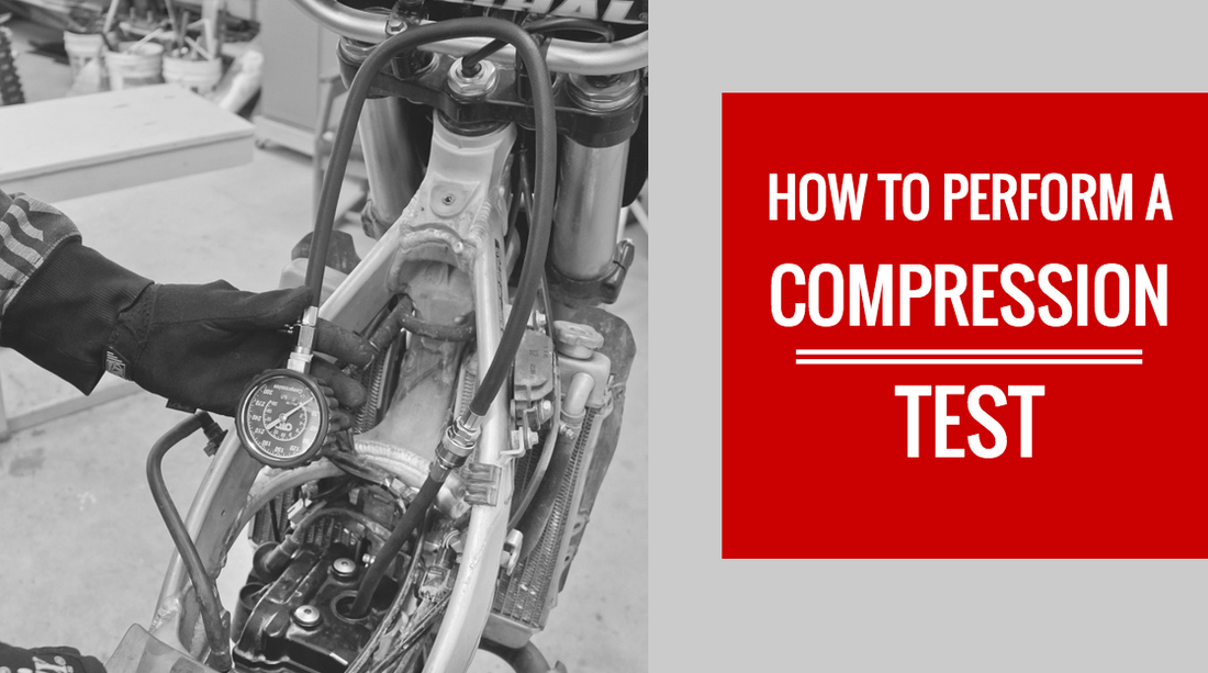How do you do a compression test on your dirt bike?
