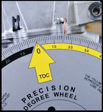 How to understand a degree wheel with your four stroke dirt bike