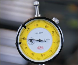 Using a dial indicator to measure cam timing