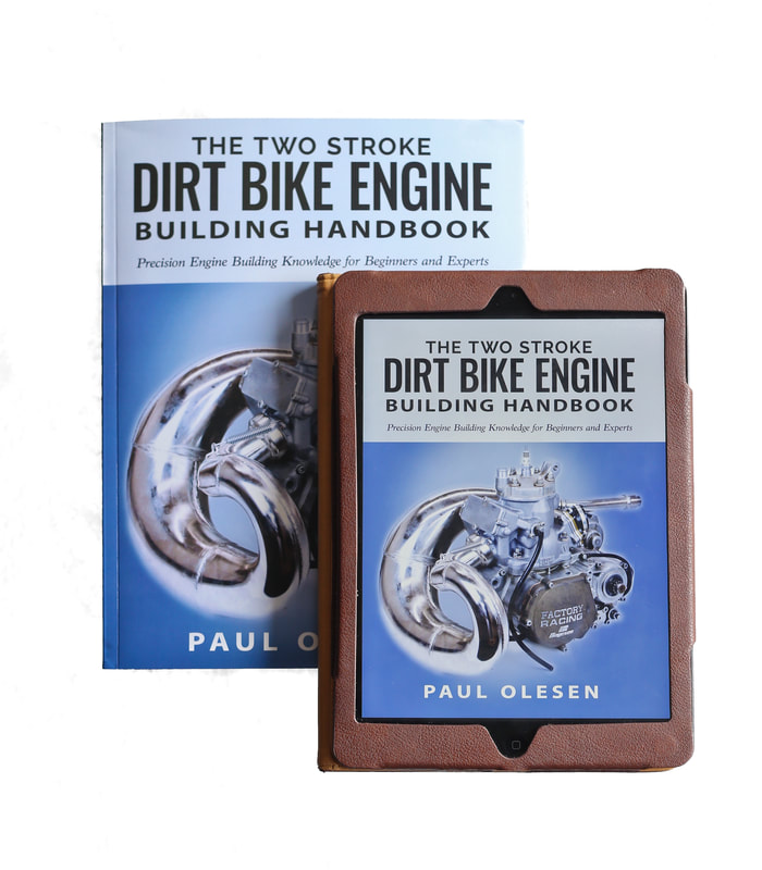 THE TWO STROKE DIRT BIKE ENGINE BUILDING HANDBOOK VALUE PACK