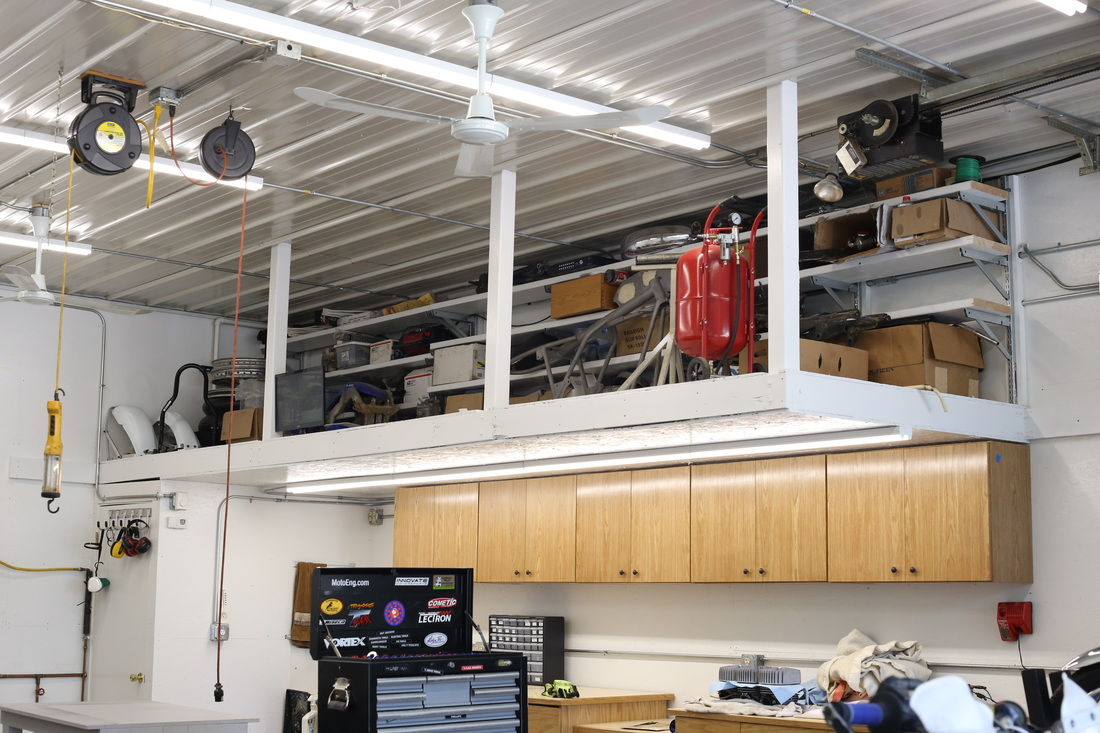 Building a mezzanine for your workshop