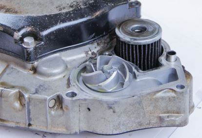 How to increase the cooling in a dirt bike engine