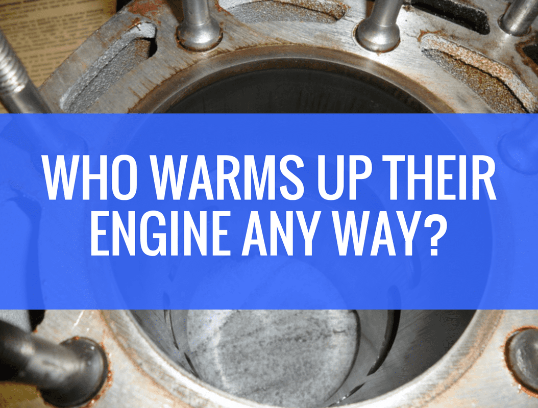 Why do you warm up your dirt bike engine?