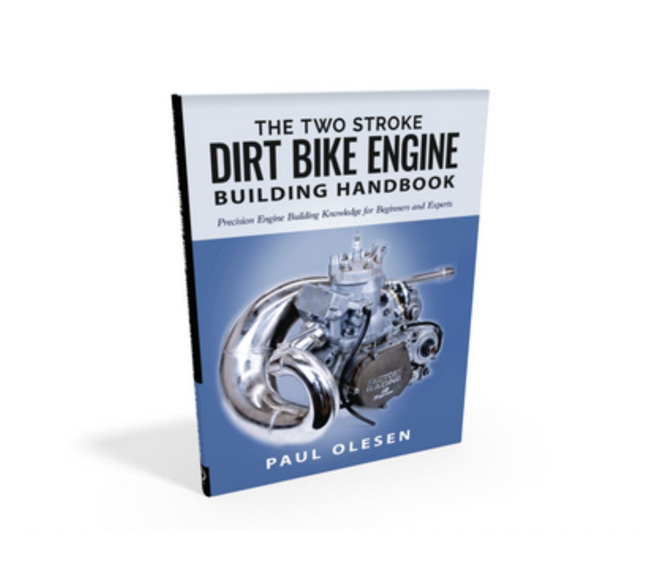 The print book and ebook version of the Two Stroke Dirt Bike Engine Building Handbook will be available soon