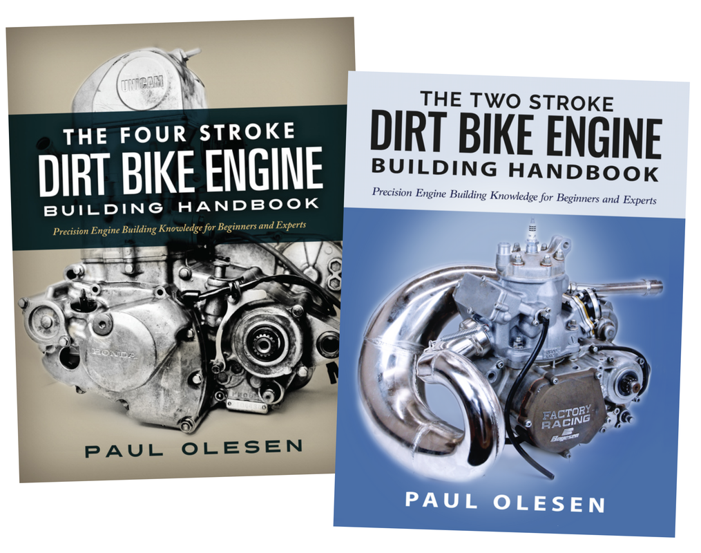 The two stroke and four stroke dirt bike engine building handbook